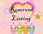 Reserved listing for charmedbytracey