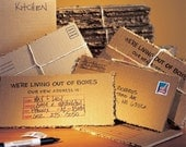 1 pack - Shredlines Moving Announcements, Change of Address Cards