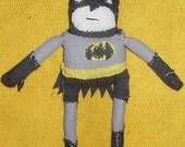 Batman Doll - RESERVED for freckledalien