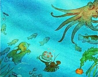 An Underwater Dream