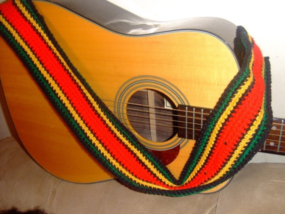 cool guitar straps by bridgeb40 on etsy. Black Bedroom Furniture Sets. Home Design Ideas