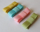 Spring Time Newborn Clippies set of 4 SALE