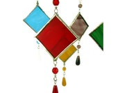 Stained Glass Suncatcher -  Pick Your Color Sun Catcher