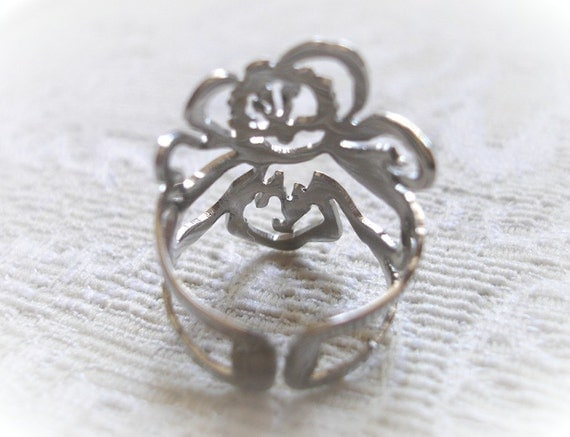 Stainless Bloom Ring (free shipping)