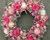 SWEET PETITTE Country dried flower wreath