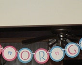 Baby Shower, It's a BOY or GIRL banner
