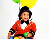 Circus Ring Master Jacket only,Toddler Costume Boy or girl