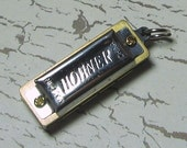 Playable Tiny Harmonica Pendant - ZNE