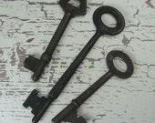 3 Rustic Prim Keys