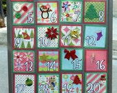 Kid Friendly Christmas Advent Calendar-12 DAYS OF CHRISTMAS