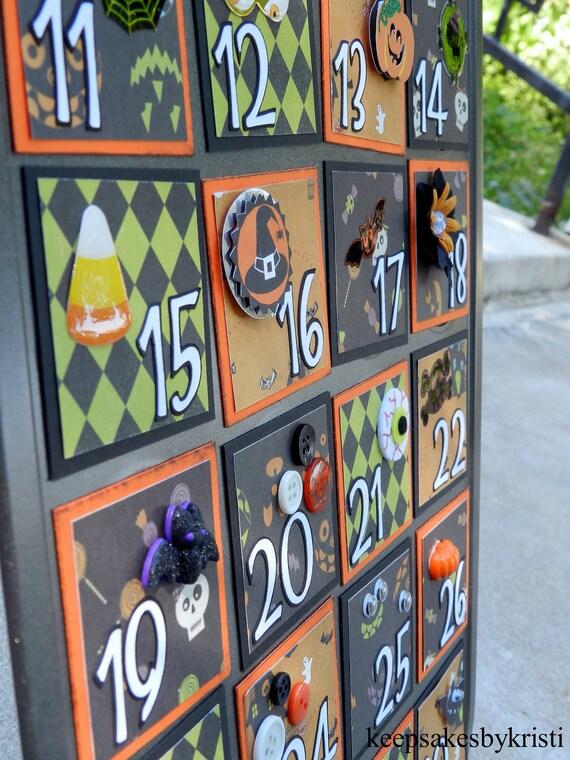 Kid Friendly Halloween Advent Calendar-Hallowhimsy KIT