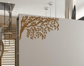 Gorgeous Tree Branches and Leaves Vinyl Wall Decal • Baby Registry for Nicole and Bryan Murphy Due date Nov 13