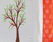 Cute Tree with Birdie Trio Child Size