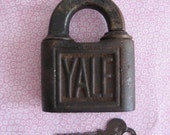 Vintage Antique YALE Lock Key Yale & Towne Mfc Co Made in USA