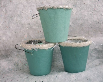 Votive Holders Candy Containers Sparkle Buckets Cookie Buckets Set of 4