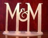 Monograms for Wedding Cake Top