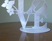 LOVE Custom Wedding Cake Topper