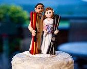 Custom Sports Wedding Cake Topper