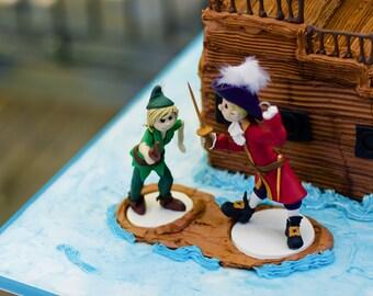 Custom Made Male or Female Figurine/Cake Topper, Custom wedding cake topper, personalized cake topper,  Mr and Mrs cake topper