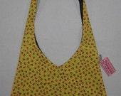 Yellow Small Strawberries Market Bag