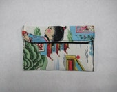 Mini Card Wallet or Coin Purse - Chinese Kids