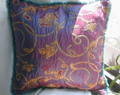 Moroccan Fabric Pillow
