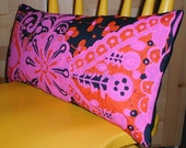 Hawaiian Barkcloth pillow.  RESERVED FOR LIAS.