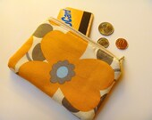 Small Zipper Pouch --- Morning Glory too