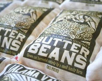 Jalama Valley 4 one pound bags of Butterbeans