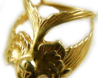14kt Gold Lark Ring