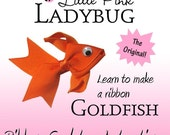 Ribbon Sculpture Instruction - Goldfish