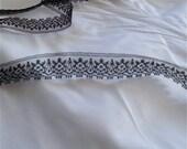 "5 yards of Vintage Black Lace Edging  5/8"" wide -Decorative sewing lace, decorative trim, dentelles, millinery supplies"