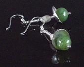 Jade and Jasper Silver Bells
