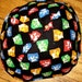 The Beatles kippah fab four yarmulke Andy Warhol design-- back to school kippah