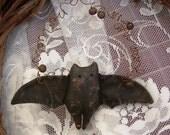Instant Download PRIMITIVE BAT Ornament PATTERN Epattern Easy