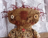 Instant Download Pattern Prim RAGGEDY Doll Maggie Rose EPATTERN Quck and Easy Very PRIM