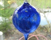 Unusual Artisan Hand Blown Glass Spire