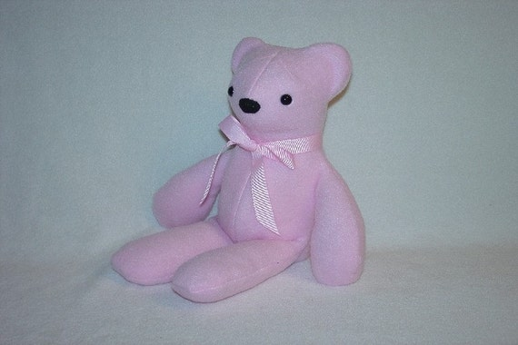 Teddy Bear Plushie  Pink  - Soft