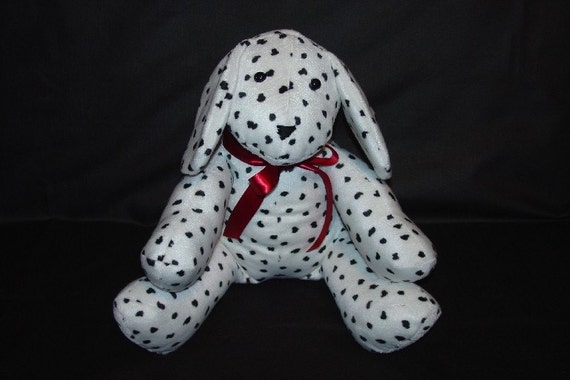 Dalmatian Puppy, Plush, Black, White - Roscoe