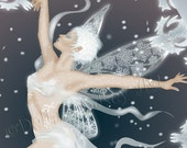 Winter's Etchings Fairy 5x7 Print