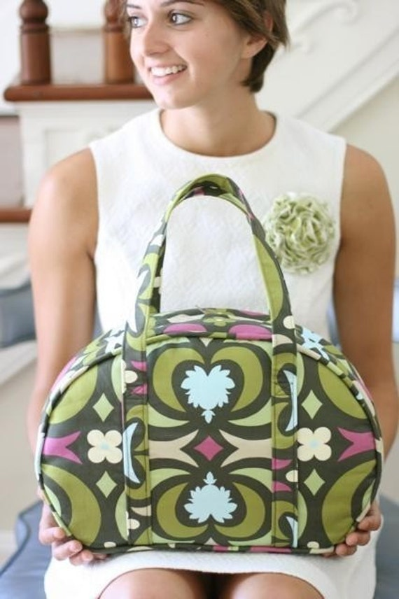 Amy Butler Sewing Pattern, Sophia Carry All, Free Shipping With Another Purchase