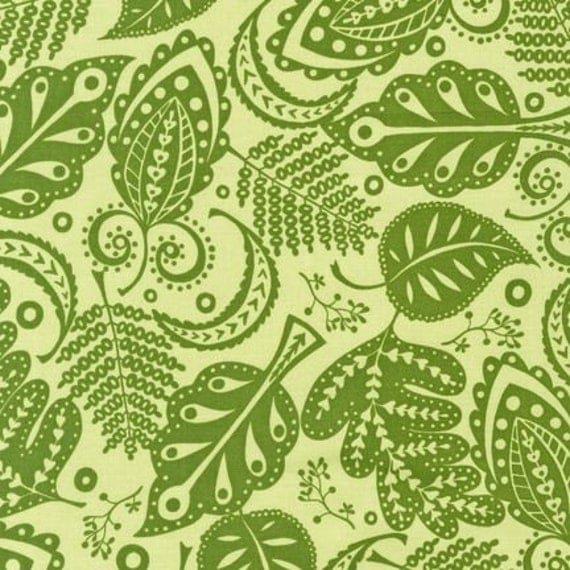 Monaluna, Foliage in Spring, About Town Fabric, 1 Yard