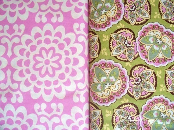Amy Butler Fabric Set, Lotus Collection, 2 Half Yards