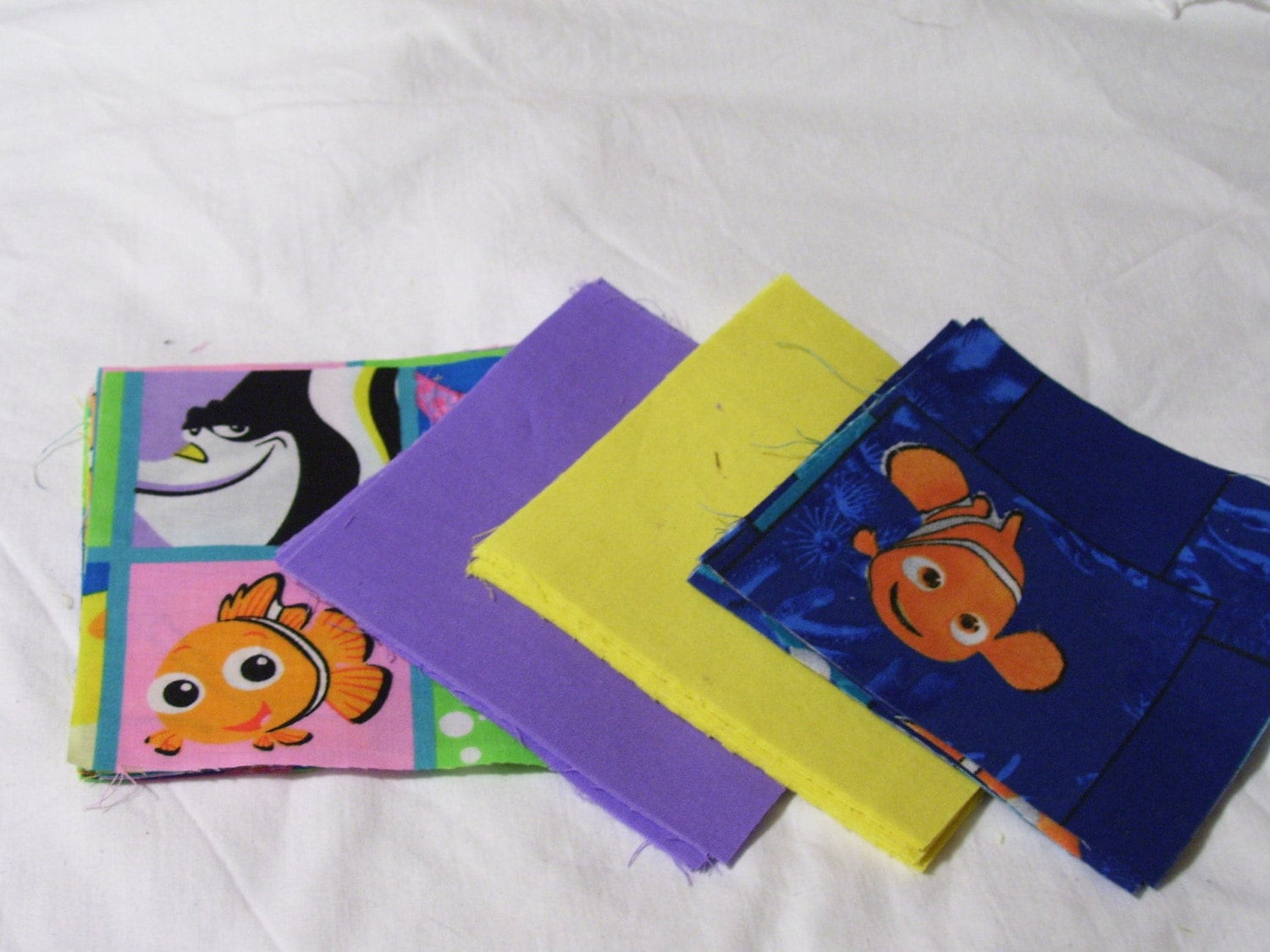Finding Nemo Quilt Kit 5 Inch Squares By Fabriccrazy On Etsy