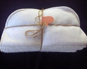 Soft Cotton Flannel Washcloths or Baby Wipes