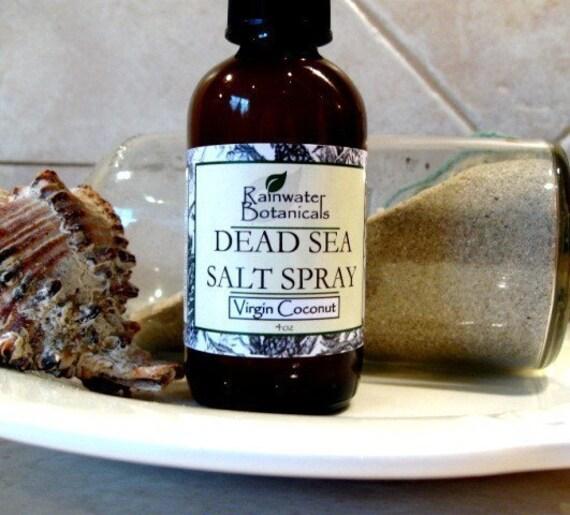 Moisturizing Coconut and Dead Sea Salt Spray For Hair