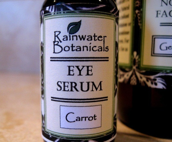Eye Serum with  carrot seed oil and olive squalane