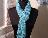 FRONT PORCH Scarf Sky Blue