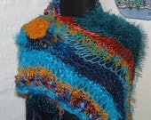 Knitted Shawl / Shrug KARIBIK