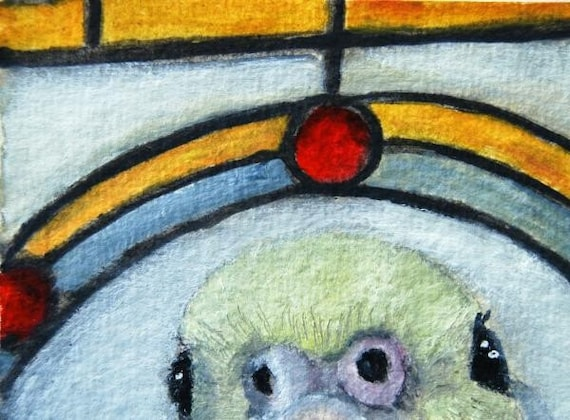 Hello Is It Me You re Looking For 6 ACEO Original